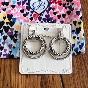 NWT Brighton Fontaine Spin Earrings